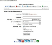 Career Search Engine on The Black Perspective