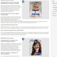 Online Magazine Archive on Women In Business & Industry
