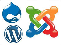 Joomla vs. Drupal vs. Wordpress