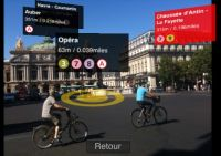 Augmented reality over Paris