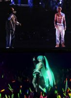 Concert Holograms, Miku and Tupac