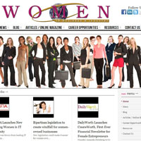 Women In Business & Industry website